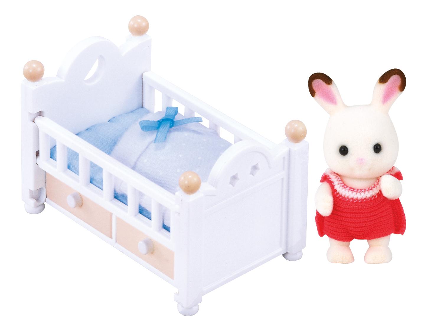 Купить Игровой набор sylvanian families малыш и детская кроватка, Игровые наборы