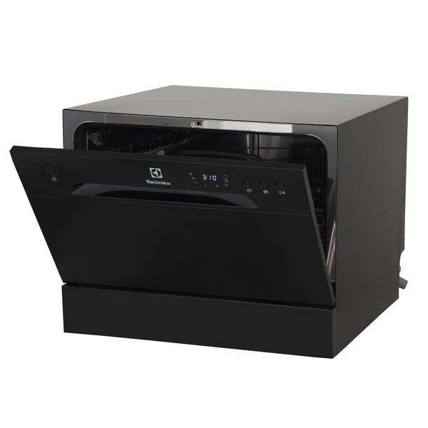Посудомоечная машина компактная Electrolux ESF2400OK Black