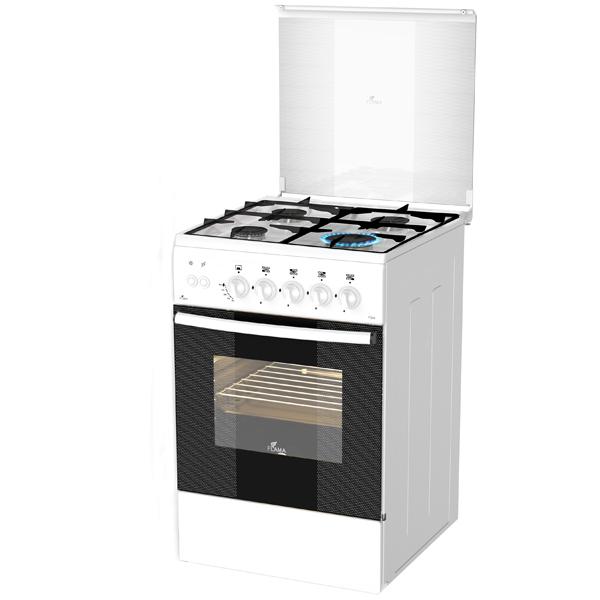 Газовая плита (50 55 см) Flama AG14210 White