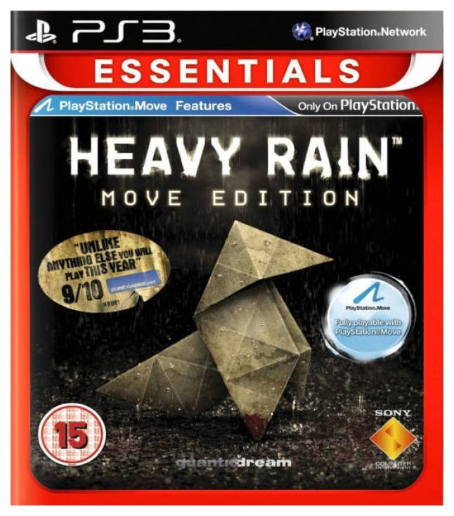 Игра Heavy Rain (Essentials) для PlayStation 3 Sony Heavy Rain (Essentials)