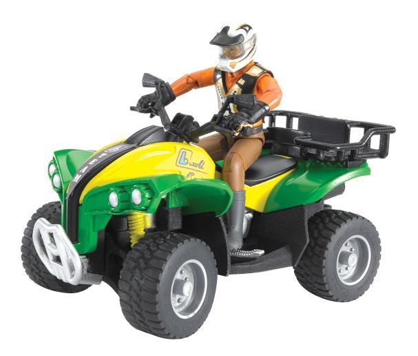 Квадроцикл с гонщиком Bruder в ассортименте