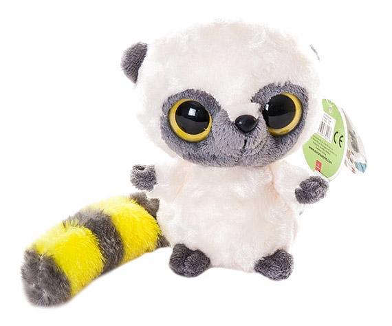 Мягкая игрушка Aurora Юху и его друзья 12-108 Юху желтый, 12 см