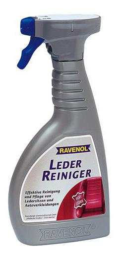 Очиститель кожи RAVENOL Leder Reiniger (0,5л) фото