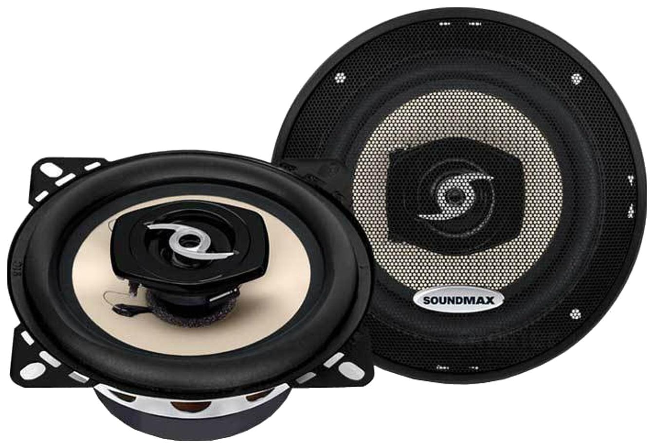 Колонки Soundmax SM-CSA402 коаксиальная 2-полосная 10см 50Вт-100Вт фото