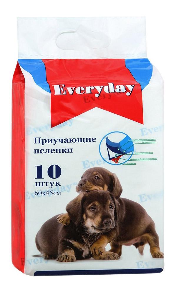 Пеленки для домашних животных гелевые Everyday, 60х45