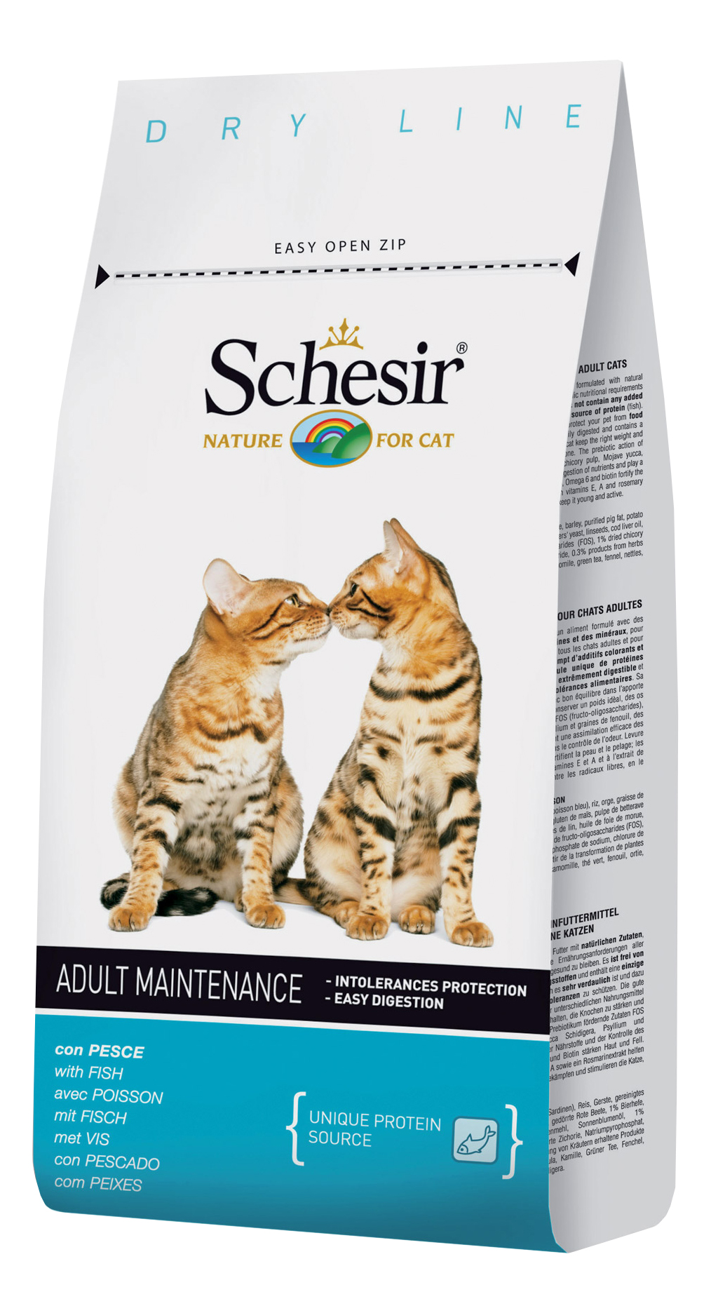 Сухой корм для кошек Schesir Adult Maintenance,