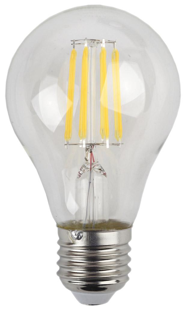 Лампа светодиодная ЭРА F-LED А60-9w-827-E27 матовый