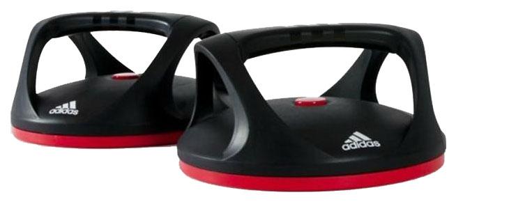 Упоры для отжиманий Adidas ADAC-11401 до 120 кг черные