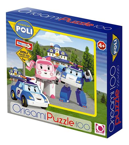 Купить Пазл Origami Robocar 100 деталей, Пазлы