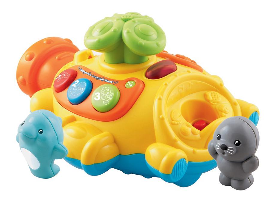 Купить Подводная лодка, Интерактивная игрушка для купания Vtech Подводная Лодка Пускающая Фонтан,