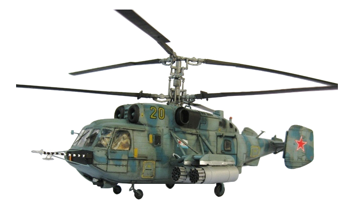 Модели для сборки С-Трейд Вертолет КА-29