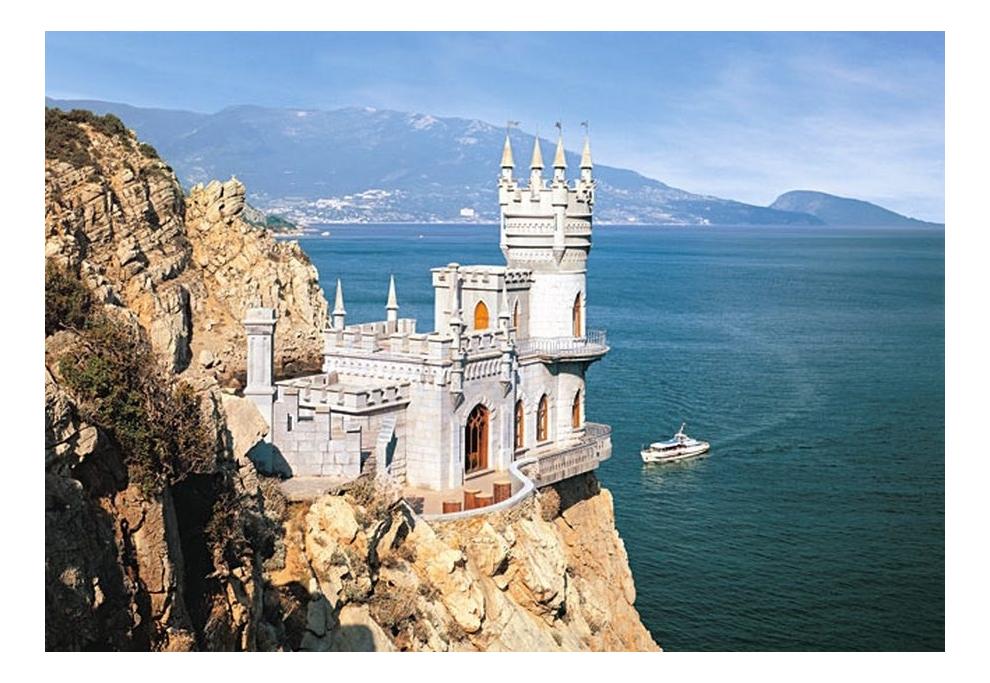 Крым в открытках, ученый смешные