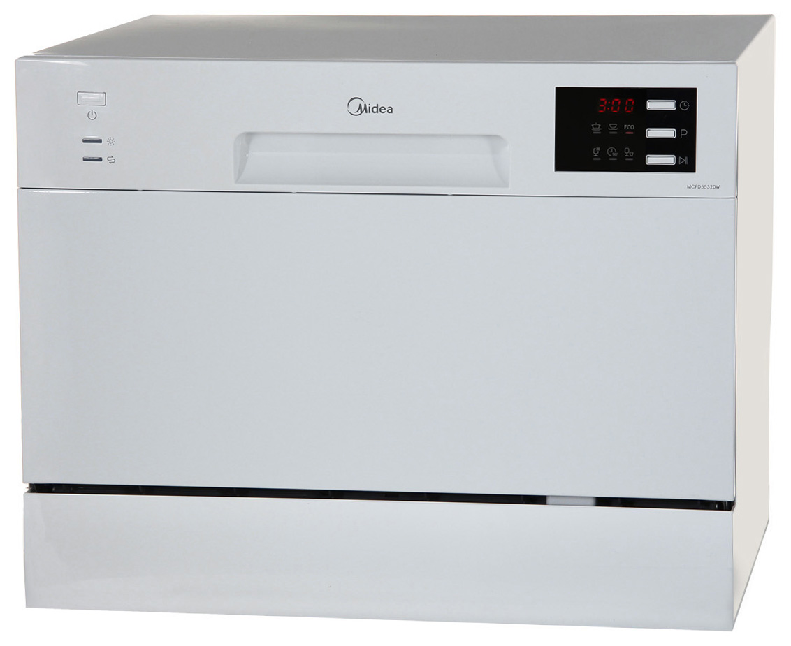 Посудомоечная машина компактная Midea MCFD55320W white фото