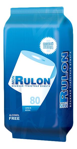 Туалетная бумага Mon rulon влажная 80 шт..