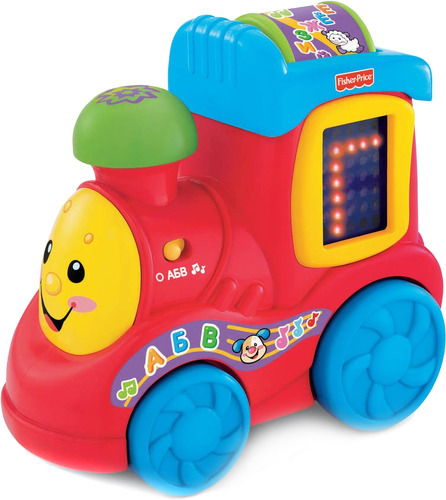 Купить Развивающая игрушка Fisher-Price Поезд Алфавит X1468,
