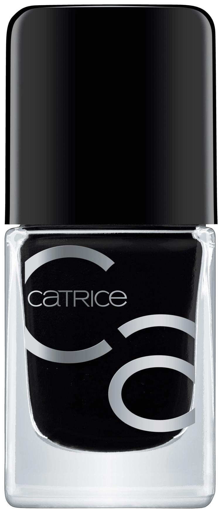 Купить Лак для ногтей CATRICE ICONails Gel Lacquer 20 Black To The Routes 10, 5 мл