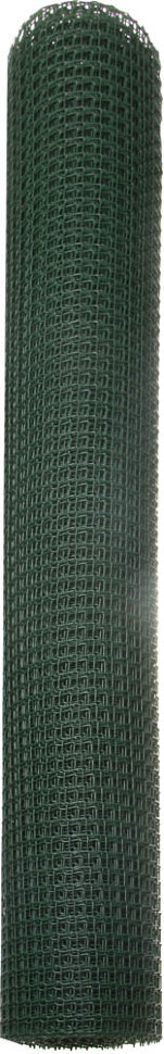 Решетка садовая Grinda, цвет хаки, 1х10 м, ячейка 17х17 мм