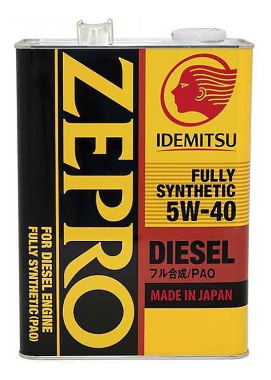 Моторное масло Idemitsu Zepro Diesel 5W-40 CF 4л