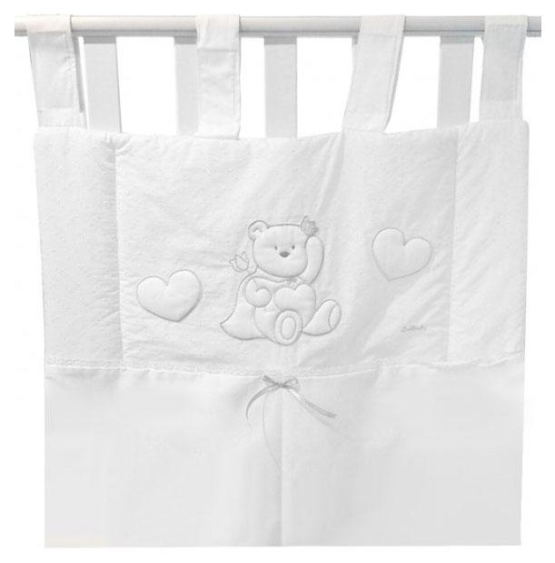 Купить Карман для белья Principinii, белый, Текстильный карман в детскую кроватку Italbaby Principinii 715, 0038-5, Аксессуары для детской комнаты