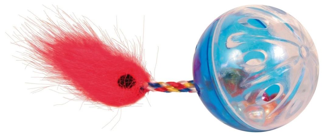 Мяч для кошек TRIXIE, Пластик, 4 см