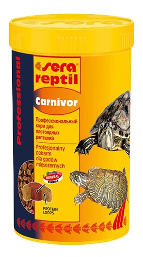 SERA Reptil Professional Carnivor профессиональный корм для плотоядных рептилий, 250мл фото