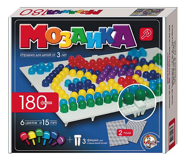 Купить 967, Мозаика Десятое Королевство 6 цветов 180 элементов,