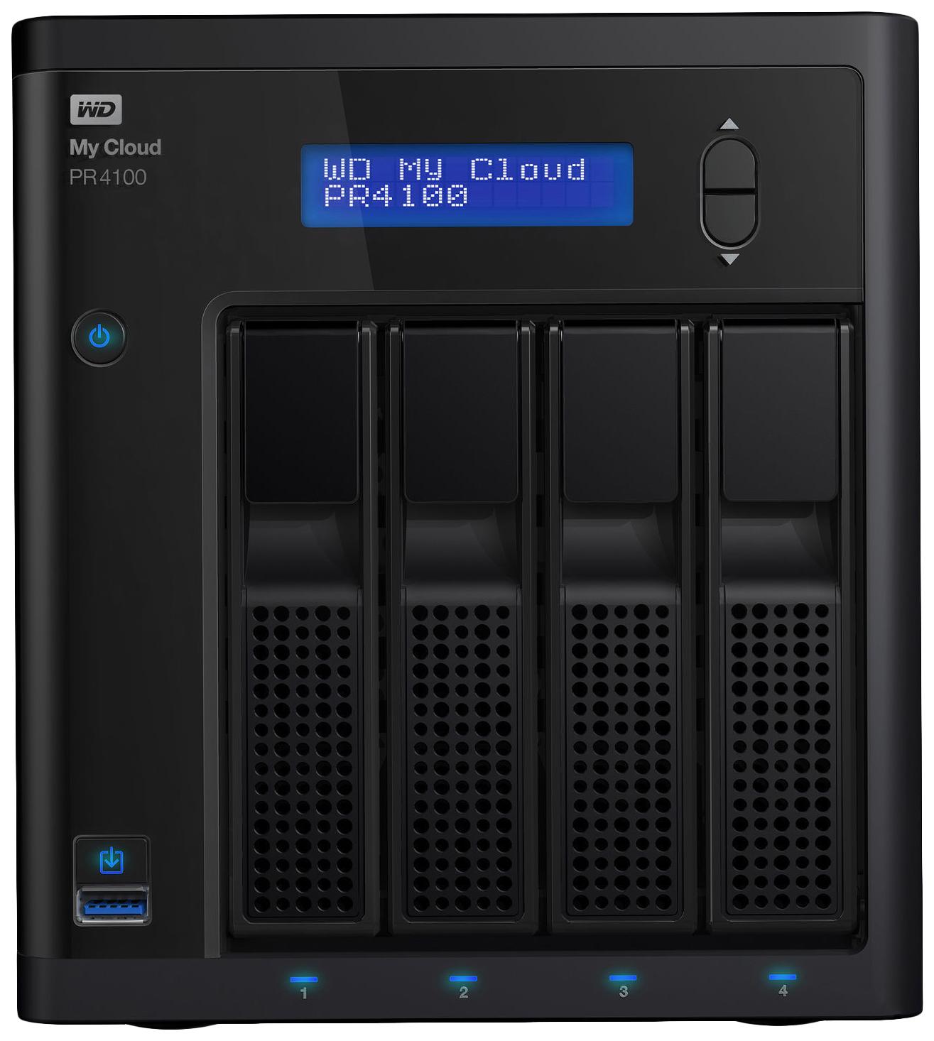 Сетевое хранилище данных Western Digital My Cloud