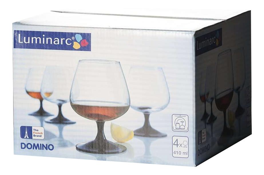 Набор фужеров Luminarc domino для коньяка 4шт