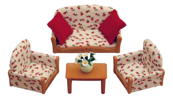 Купить Игровой набор Sylvanian Families Мягкая мебель для гостиной, Игровые наборы