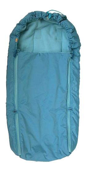 Конверт-мешок для детской коляски Чудо-Чадо Флисовый голубой