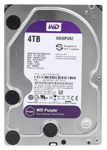 Внутренний жесткий диск Western Digital Purple