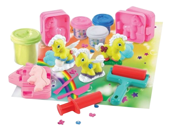 Набор для лепки из пластилина Playgo Единорог