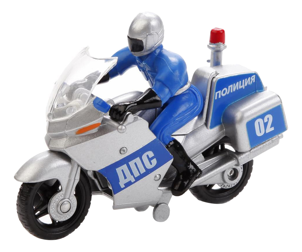 Купить Игровой набор Технопарк Мотоцикл Полиция с фигуркой, Игровые наборы