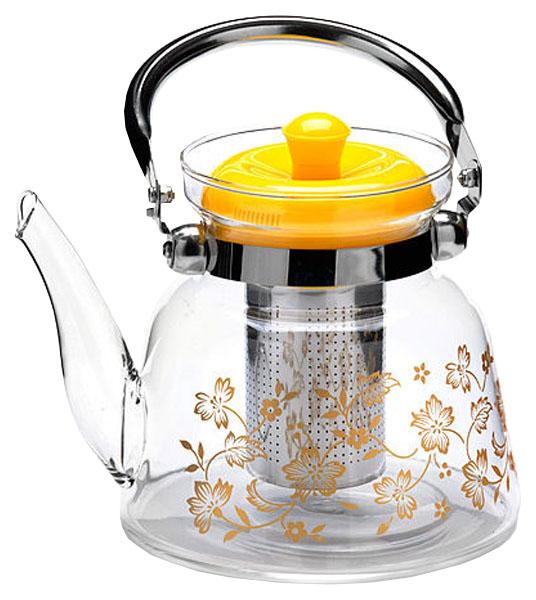 Заварочный чайник Mayer#and#Boch MB-26969 Прозрачный, желтый