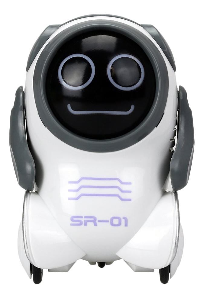 Купить Робот Покибот белый круглый Silverlit 88529-5, Интерактивные мягкие игрушки