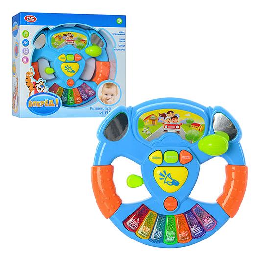 картинка Музыкальный руль Вперед! 22 см Play Smart 7526 от магазина Bebikam.ru