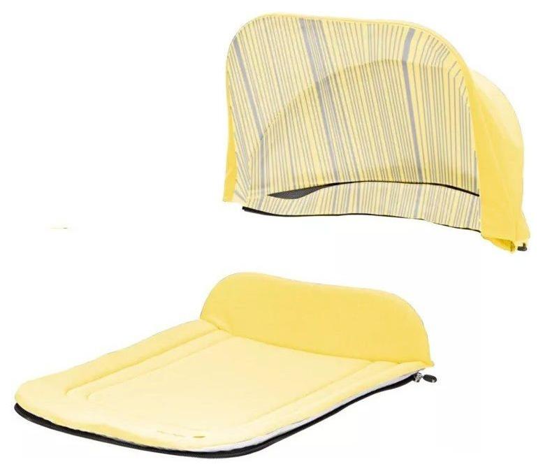 Капор + накидка Seed Papilio Carry Cot Sunshine Yellow фото