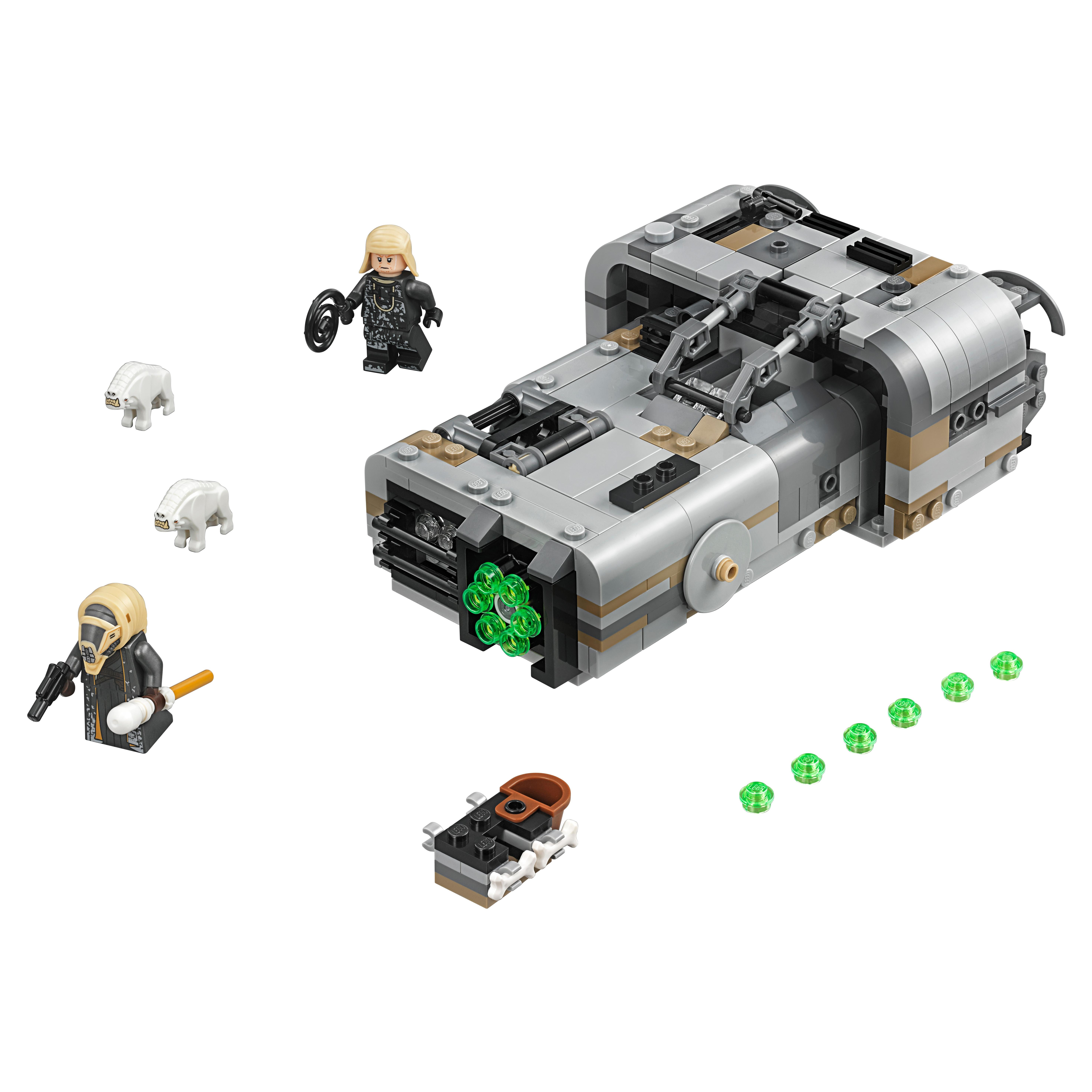 Конструктор LEGO Star Wars Спидер Молоха 75210
