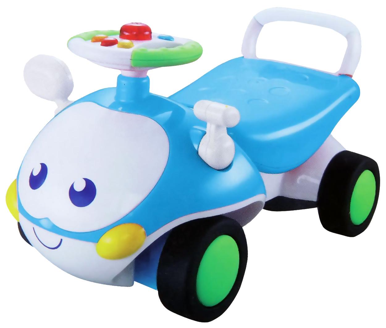 Купить Средняя, Каталка детская Gratwest машинка с глазками Х51531, Машинки каталки