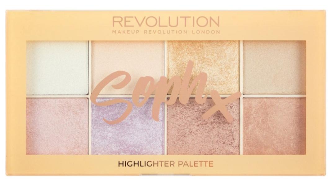 Хайлайтер Makeup Revolution Soph Highlighter Palette