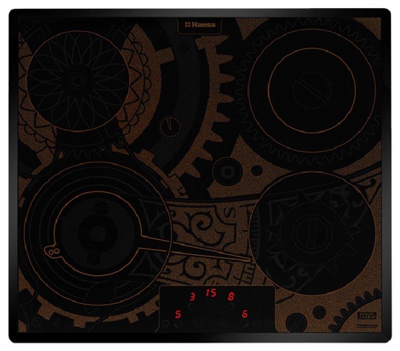 Встраиваемая варочная панель электрическая Hansa BHC93515 Black
