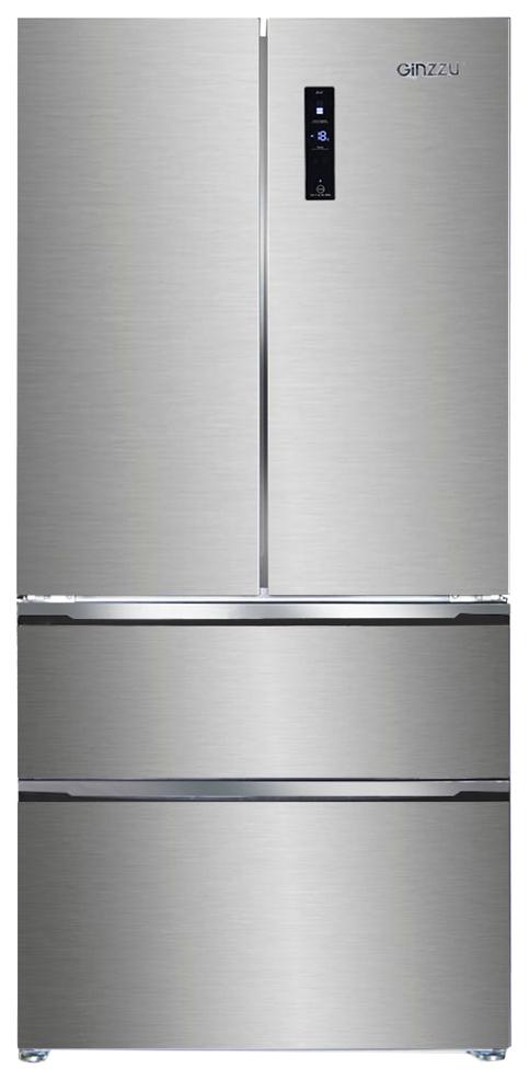 Холодильник Ginzzu NFK 570 X Silver