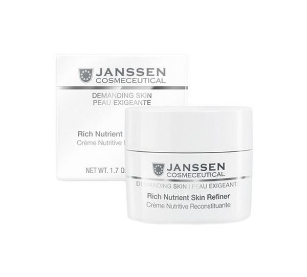 Крем для лица Janssen Demanding Skin Rich Nutrient Skin Refiner SPF15 50 мл фото