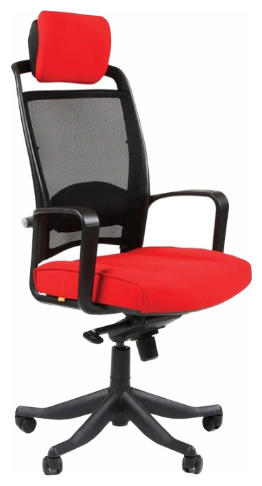 Компьютерное кресло CHAIRMAN 283 00-06099617, красный
