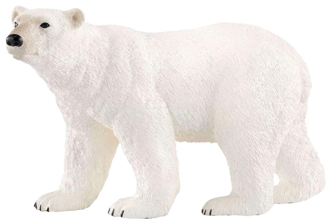Купить Фигурка животного Schleich Белый медведь 14800, Игровые фигурки