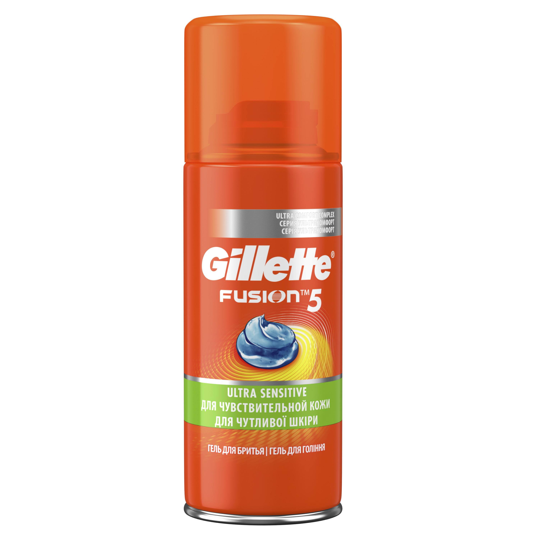 Гель для бритья Gillette Fusion Для чувствительной кожи 75 мл фото