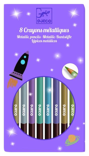 Купить 9753, Карандаши цветные Djeco 12 шт., Цветные карандаши