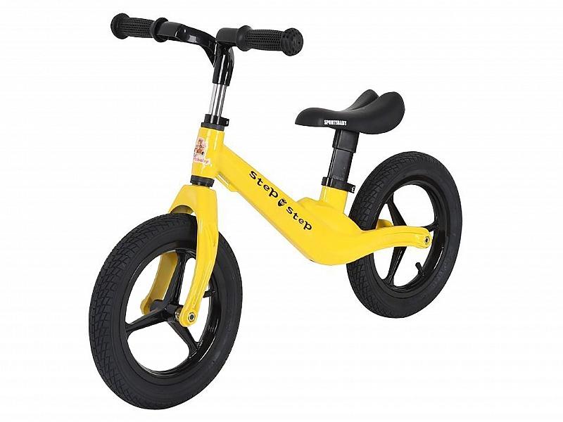 Купить Беговел Sportsbaby Step by Step MS-333 желтый, Беговелы