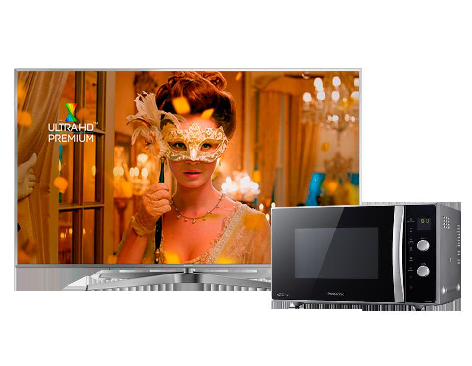 Комплект LED Телевизор 4K Ultra HD Panasonic