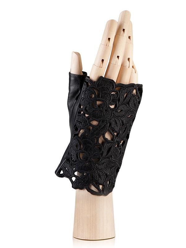 Митенки женские Eleganzza F-0162 черные 6